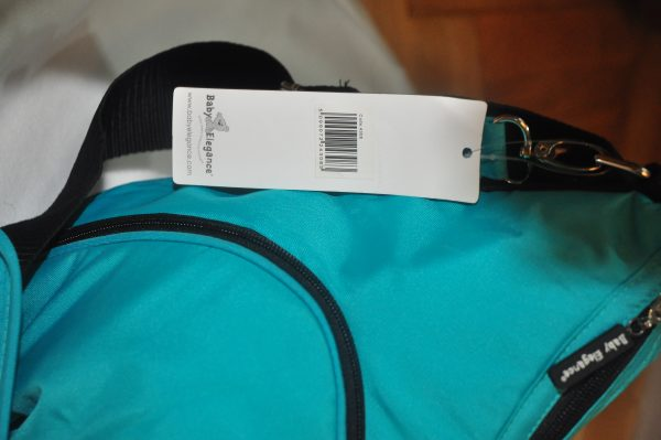 torba, baby elegance, zielona, do wózka, przewijak, kosmetyczka,nowa, bagaż