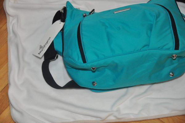 torba, baby elegance, zielona, do wózka, przewijak, kosmetyczka,nowa, bagaż f