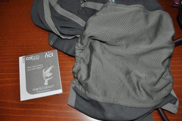 nosidełko, chusta. caboo, carrier, dla dziecka, dla mamy, do noszenia, nosidło, nosidełko, szare, nowe, materiałdziecko, podróż, kółkowa, wygodna3