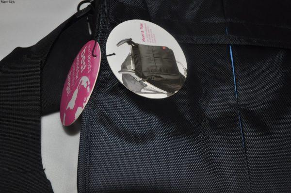 torba, baby bing, baby bing, czarnado wózka, do spacerówki, dużo kieszeni, brąz, kosmetyczka, saszetka, na smoczek, termos, rzewijak, plecak, w podróż, torna2