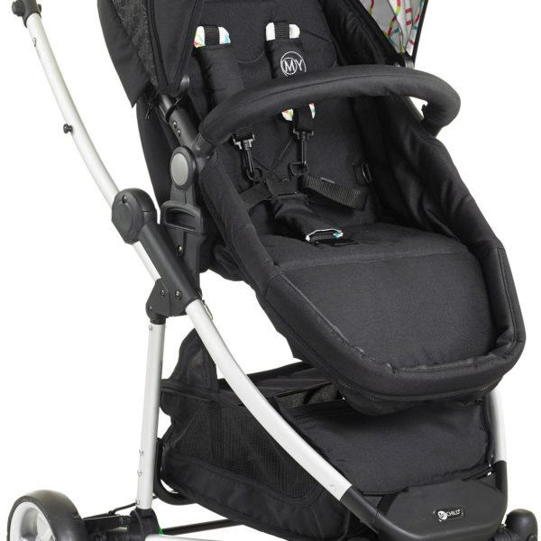 My-Child-Floe-Single-Stroller-Rainbow-Squiggle-2