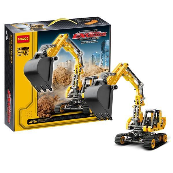 lego-compatible-decool-3359-excavator-agriprolink-1603-15-agriprolink@8