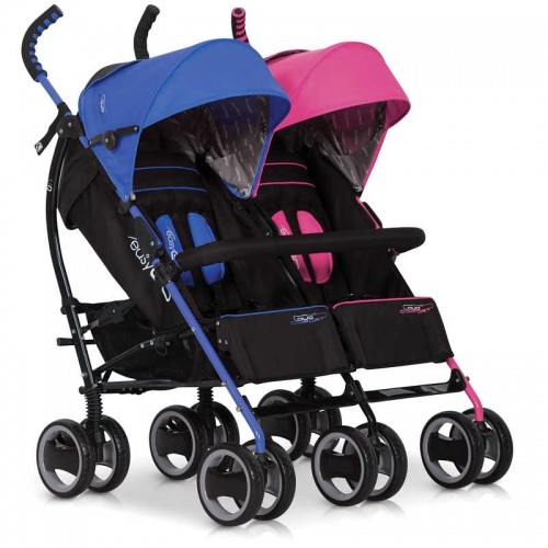 Wózek, spacerówka, bliźniaczy, easygo, easy go, duo, comfort, dla bliźniąt