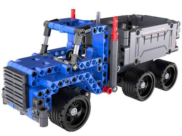 wywrotka, klocki, lego, ciężarówka