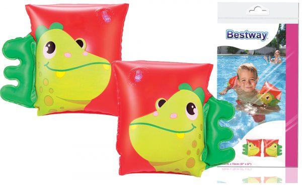 rękawki, bestway, dmuchane, basen, do wody, nowe, dinozaur