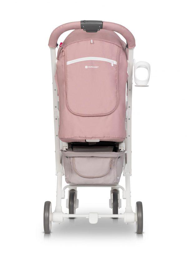 spacerówka, volt pro, euro cart, do 22 kg, pink, szary zielon