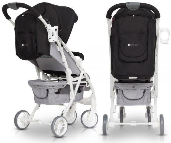 wózek, spacerówka, euro cart, volt, pro, pink, niagara, lekki, do 22 kg, folia,