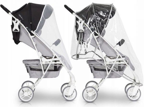 wózek, spacerówka, euro cart, volt, pro, pink, niagara, lekki, do 22 kg, folia, nowe