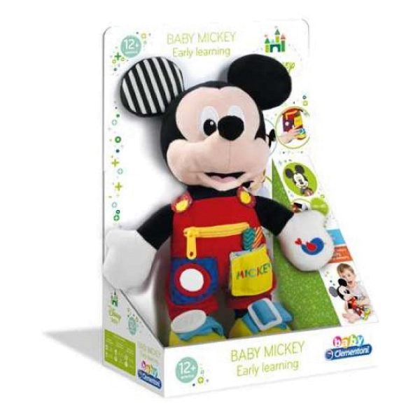 Interaktywna, myszka, miki, zabawka, maskotka