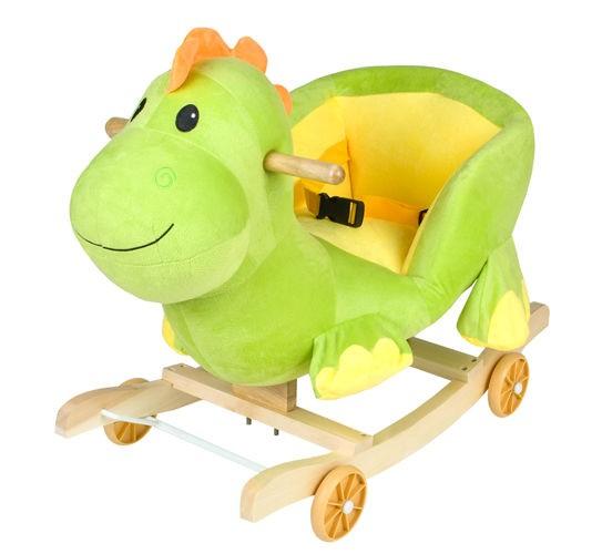 dinozaur, smok, bujak, konik, jeździk, na biegunach,