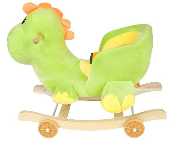dinozaur, smok, bujak, konik, jeździk, na biegunach,,