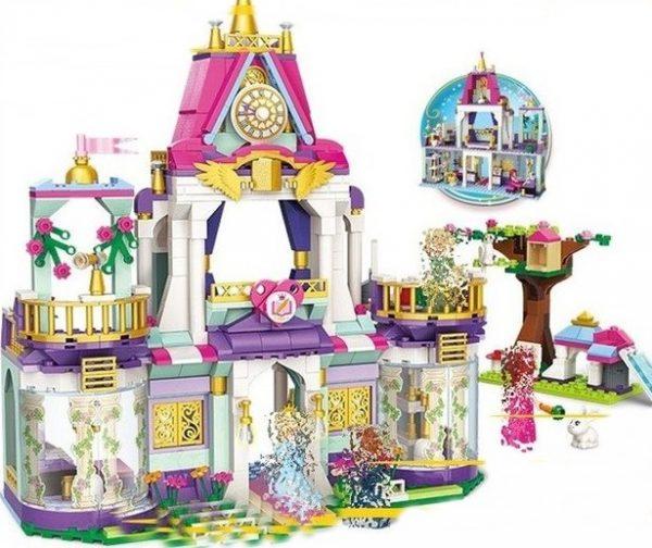 klocki, pałac, zamek, ksiezniczki, lego