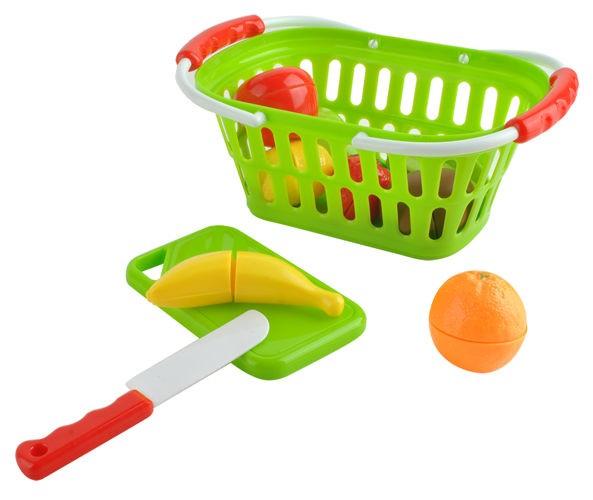 koszyk, warzywa, dla dziecka, kasa, waga, owoce, do cięcia,