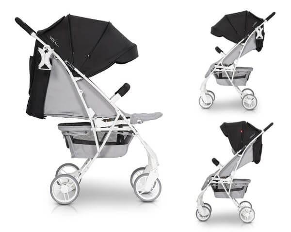euro cart, volt, pro, adriatic, wózek, spacerówka, do 22 kg, dla dziecka, nowy