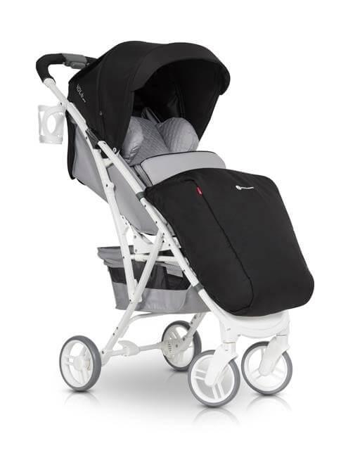 euro cart, volt, pro, adriatic, wózek, spacerówka, do 22 kg, dla dziecka, szary, anthriacite