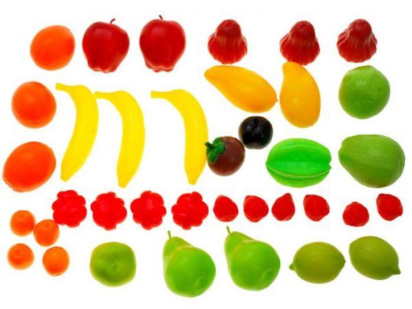 Kolorowy-koszyk-OWOCE-WARZYWA-na-zakupy, kuchnia, zestaw, do kuchni, warzywa, owoce