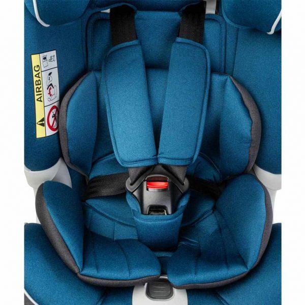 caratero, yoga, fotelik, dla dziecka, samochodowy, 0-25, navy, joga, blue, isofix, regulowany