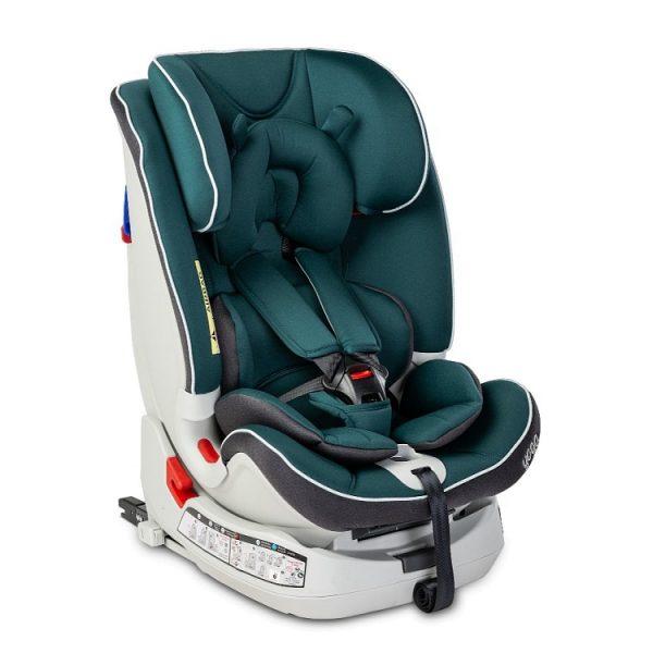 caratero, yoga, fotelik, dla dziecka, samochodowy, 0-25, navy, joga, isofix, green,