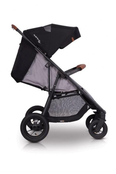 easy go, quantum, air, wózek, spacerówka, pompowane koła, nowy, dla dziecka, grey