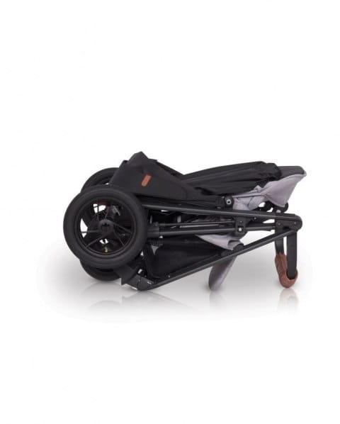 easy go, quantum, air, wózek, spacerówka, pompowane koła, nowy, dla dziecka, grey,