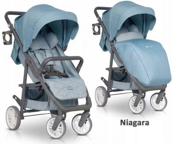 euro cart, flex, spacerówka, wózek, do 22 kg, nowy, blue, niagara