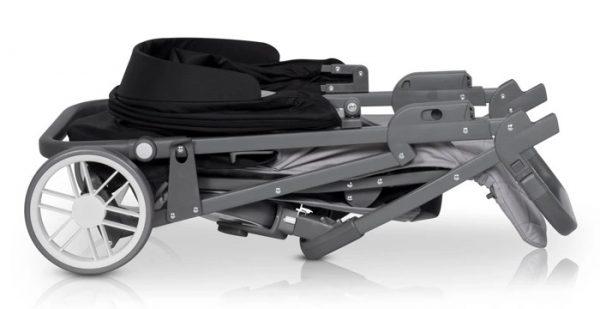 euro cart, flex, spacerówka, wózek, do 22 kg, nowy, pink, antracyt, niagara