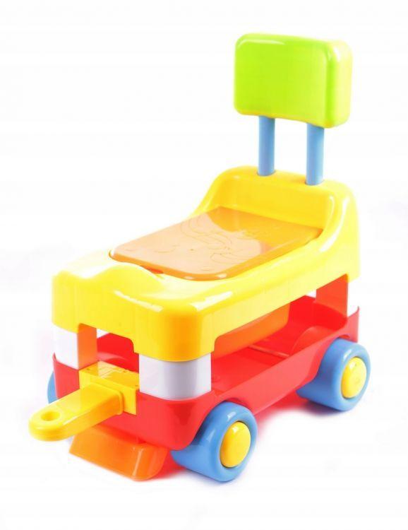 jeździk, samochód, pojazd, pchacz, ciuchcia, pociąg, 2w1