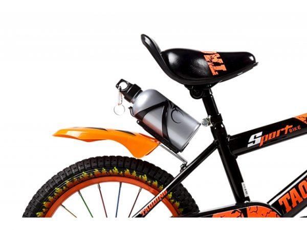 ROWEREK DZIECIĘCY 16 CALI BMX CROSS + BIDON, rower, rowerek, pomarańczowy, ognie,