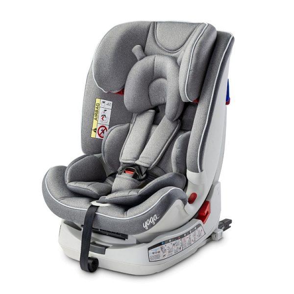 caratero yoga, 0-25, grey, fotelik, samochodowy, do samochodu