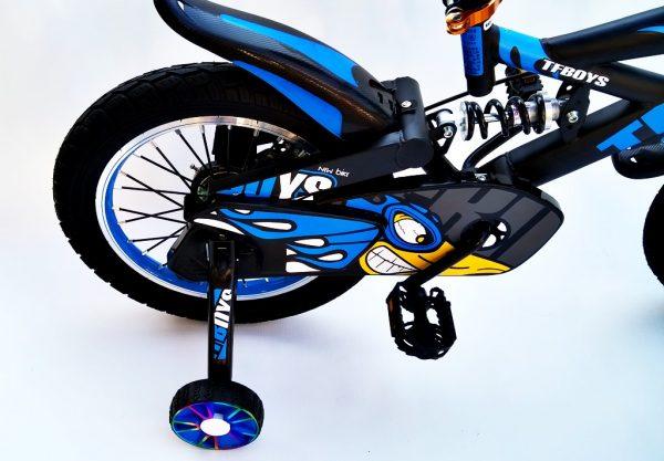rower, rowerek, amortyzatory, dla chłopca, 16 cali,