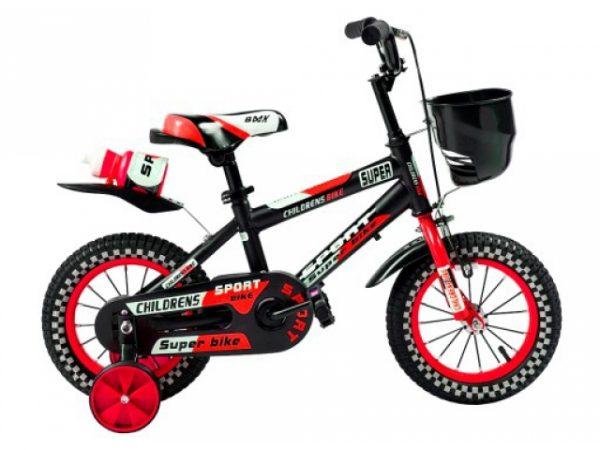 rowerek, dla dziecka, 12 cali, czerwony rower,