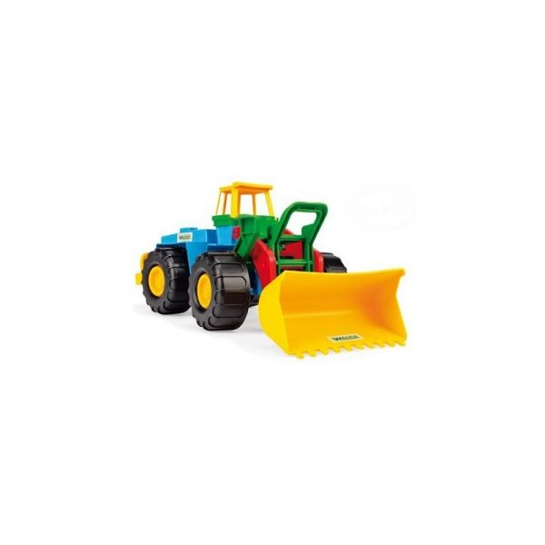 wader, pojazd, ładowarka, spych, traktor