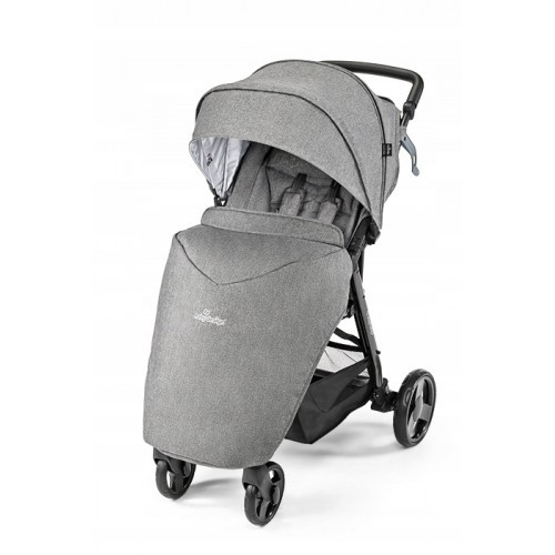 baby-design-clever-graphite, szary do 23 kg, nowy, osłonka