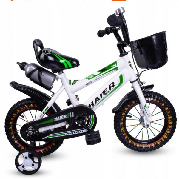 rower haier 12 cali zielony