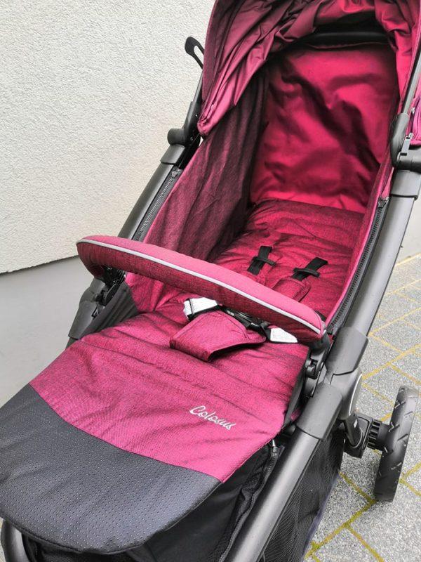 caratero colosus, caratero, wózek, spacerówka, nowy