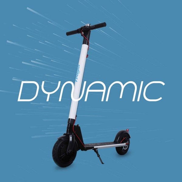 hulajnoga elektryczna Frugal dynamic bialy_1