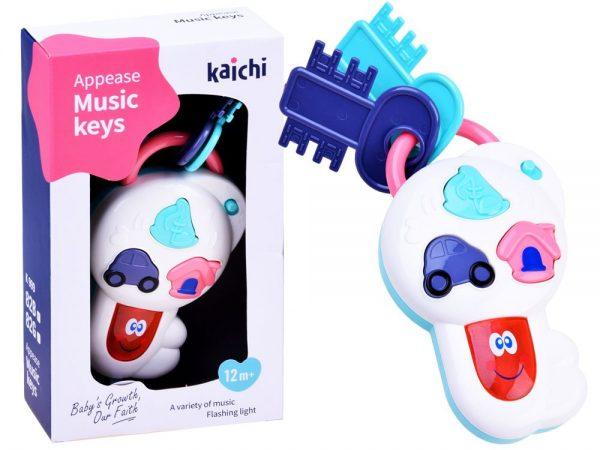 Interaktywne-Kluczyki-zabawka-dla-dziecka, grzechotka