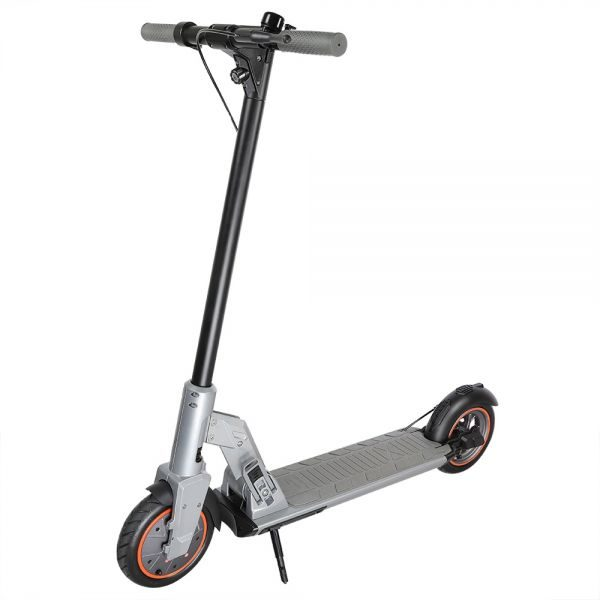 kugoo-m2-pro-folding-electric-scooter-85-inch-tire-gray