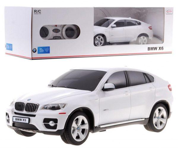 autko, samochód, bmw x 6, rc, sterowany, biały
