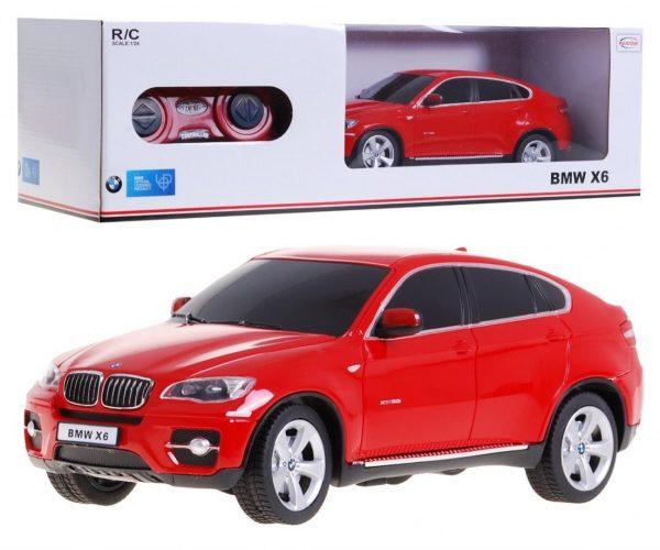 autko, samochód, bmw x 6, rc, sterowany, czerwony