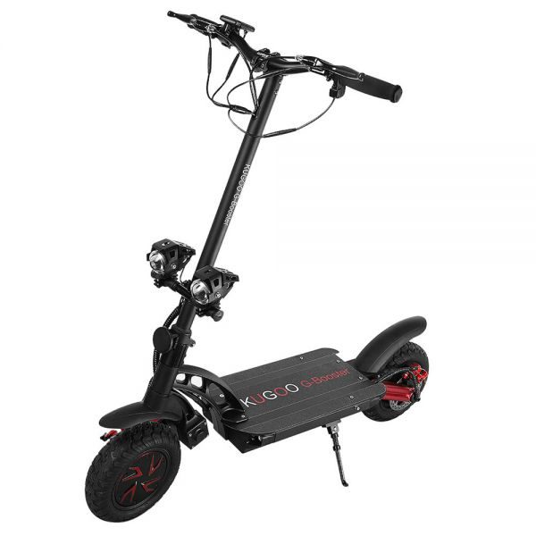 kugoo-g-booster-folding-electric-scooter-10-inch-tire-black