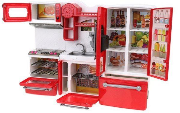 Kuchnia-dla-lalek-plastikowa, barbie