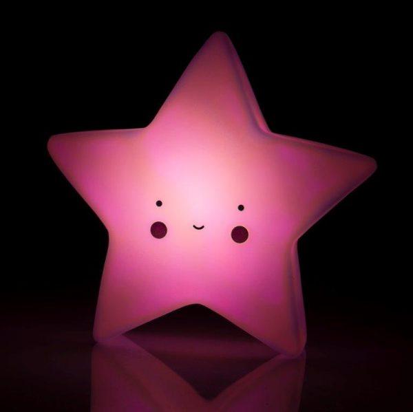 lampka, do pokoju, ozdoba, niebieska, gwiazda, róż,
