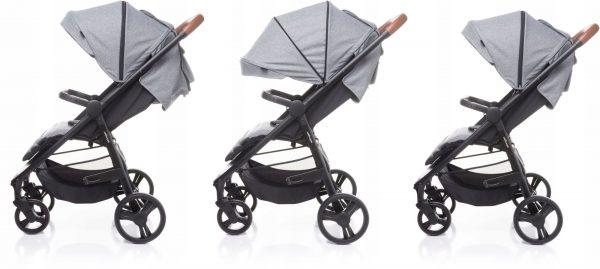 4baby, stinger, wózek, spacerówka, grey