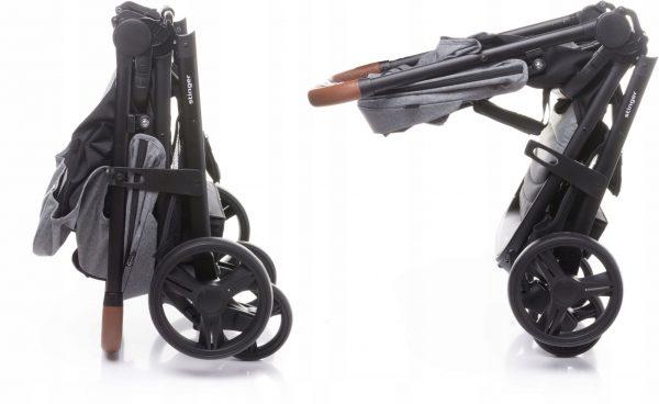 4baby, stinger, wózek, spacerówka, grey.jpg,