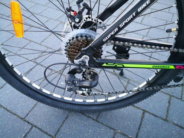 rower, aluminiowy, koła 26 cali, alu, lekki rower, amortyzowany, shimano