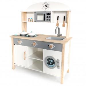 kuchnia, drewniana kuchnia